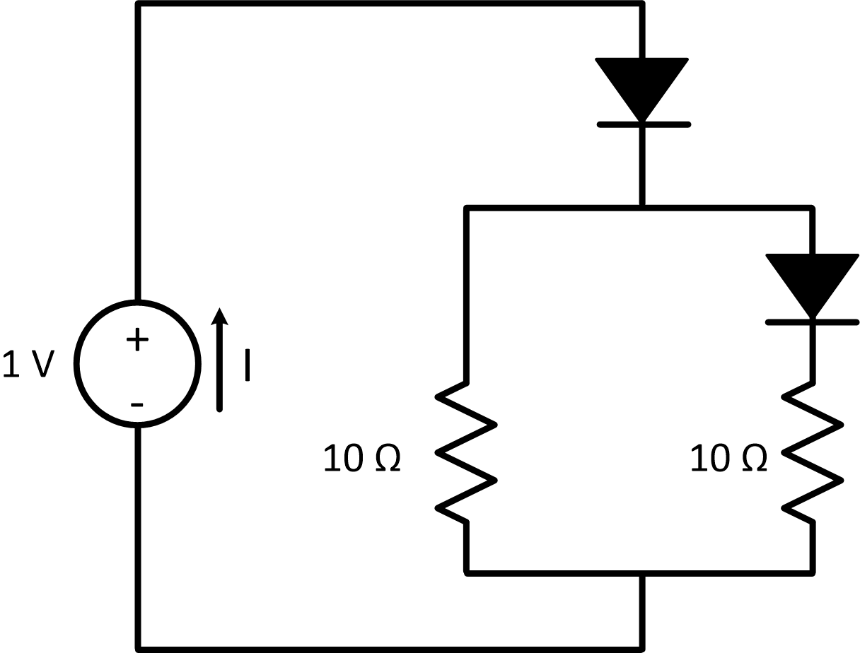 Current In A Diode Circuit Diodes Circuits And Clean It Up Little More By Doing Another Slide For The Top Sliding Junction Around On Bottom