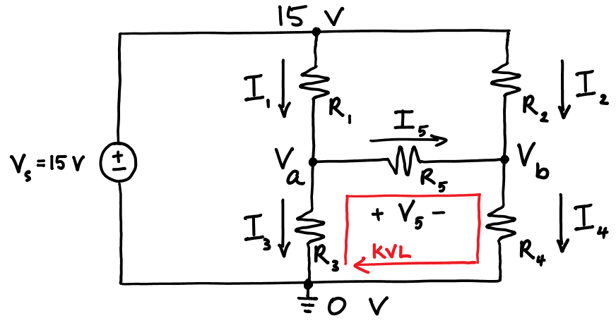 KVL With Node Voltages