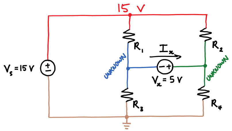 Voltage Source Bridge Circuit