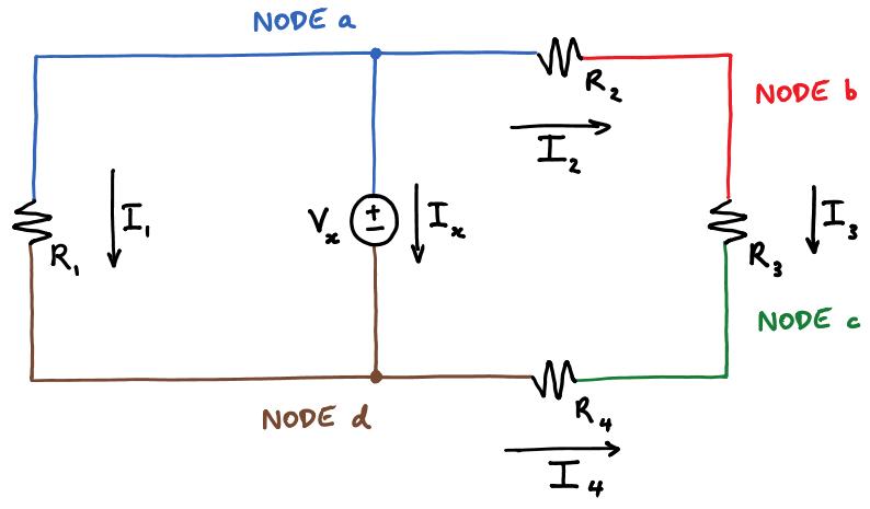 kirchhoff s circuit laws rh courses engr illinois edu circuit diagram of ldr circuit diagram of line follower robot