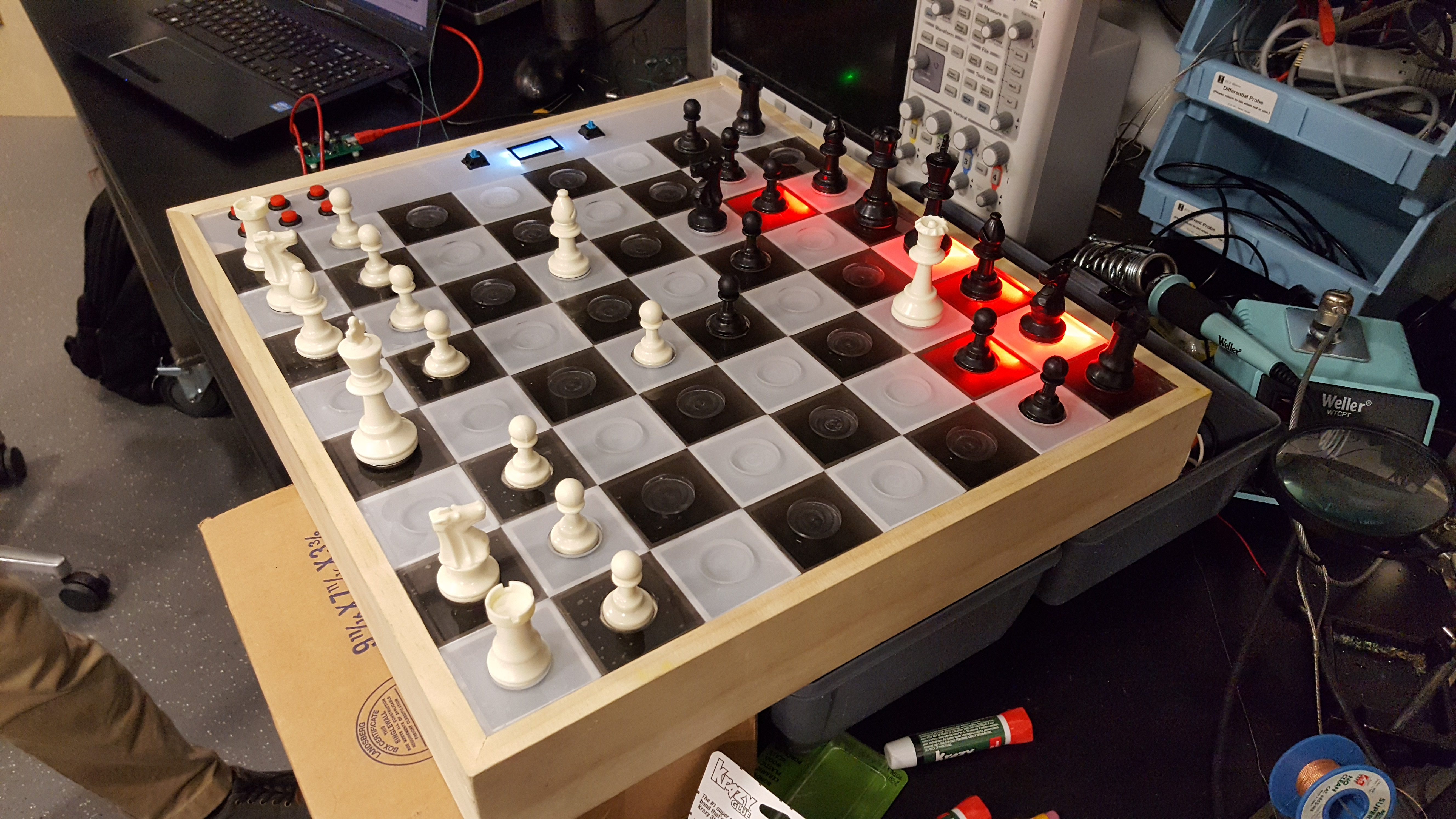 Assistive Chessboard